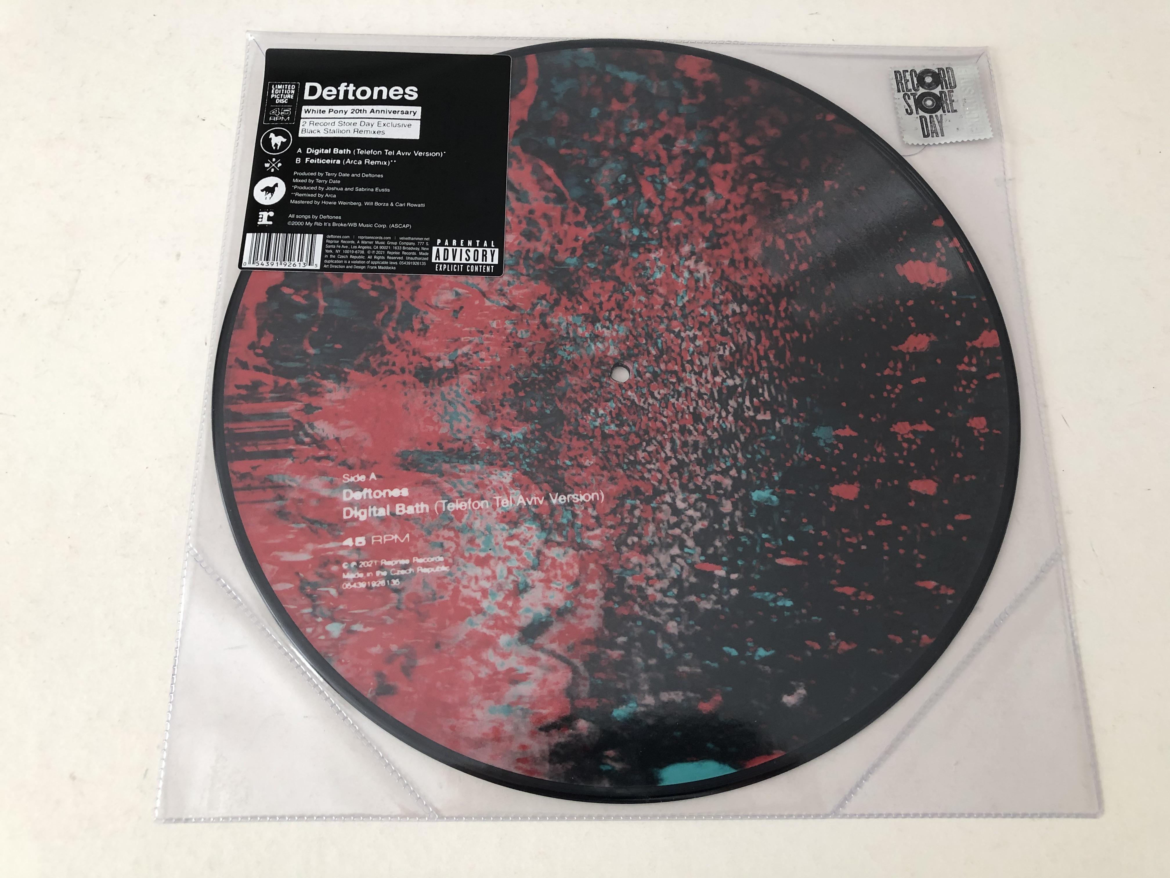 Digital Bath - Telefon Tel Aviv (PICTURE Vinyl)