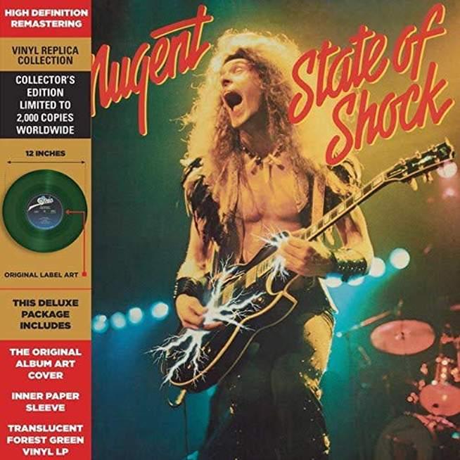 State Of Shock (TRANSLUCENT FOREST GREEN Vinyl)
