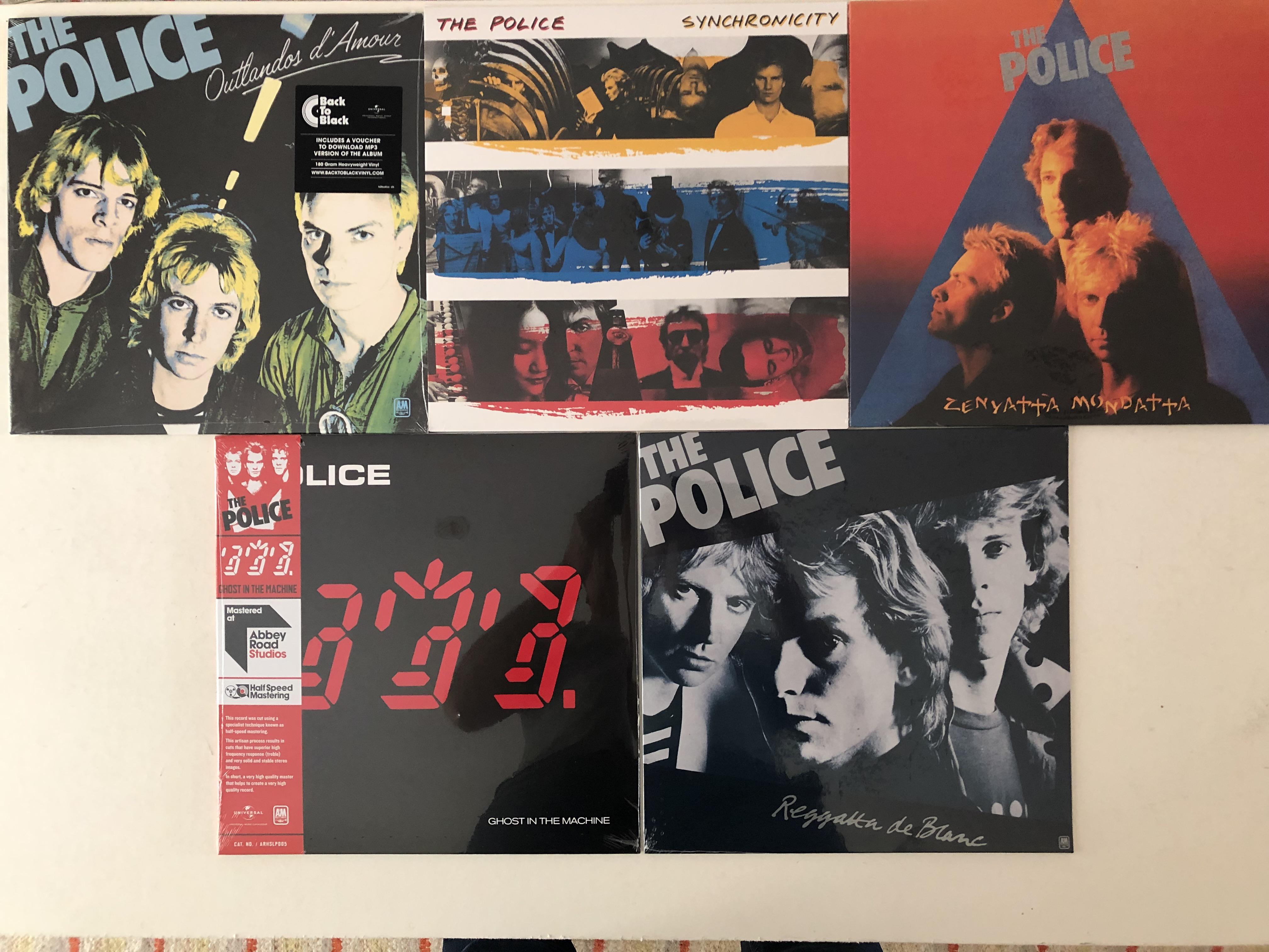 The Police  Vinyl LP Collection / Sammlung