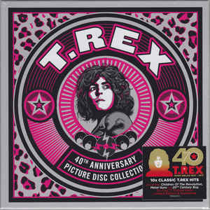 T. Rex  40th Anniversary Picture Disc Collection