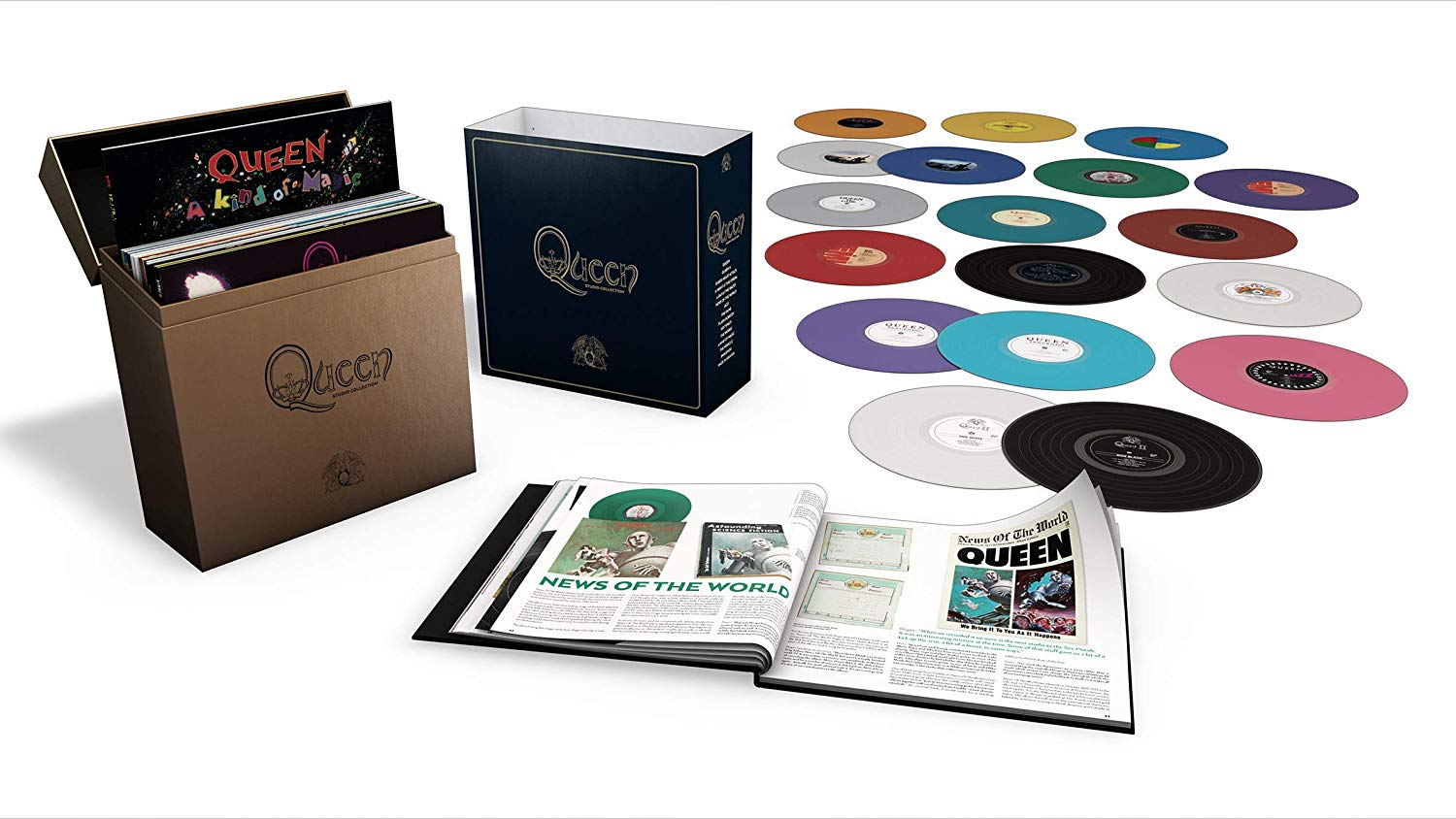 Complete Studio Album Collection on COLOURED Vinyl