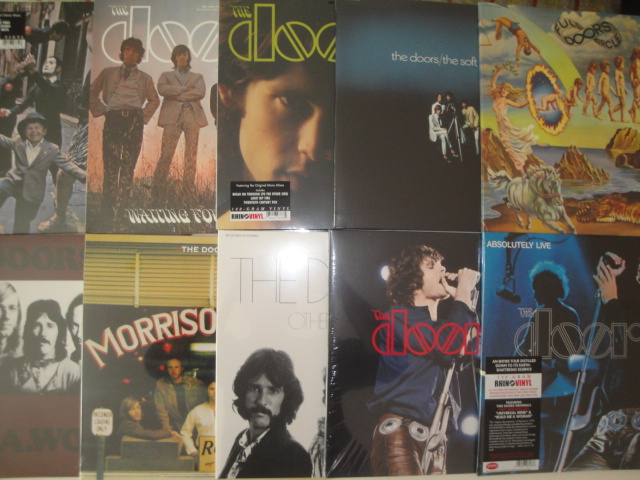 The Doors Vinyl Sammlung / Collection