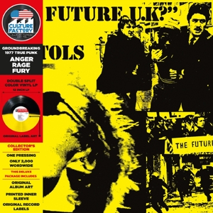No Future UK? (YELLOW- BLACK Vinyl)