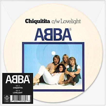"""Chiquitita 7"""" PICTURE Vinyl"""