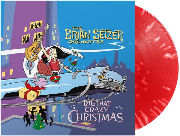 Dig That Crazy Christmas (RED / WHITE Splatter Vinyl)