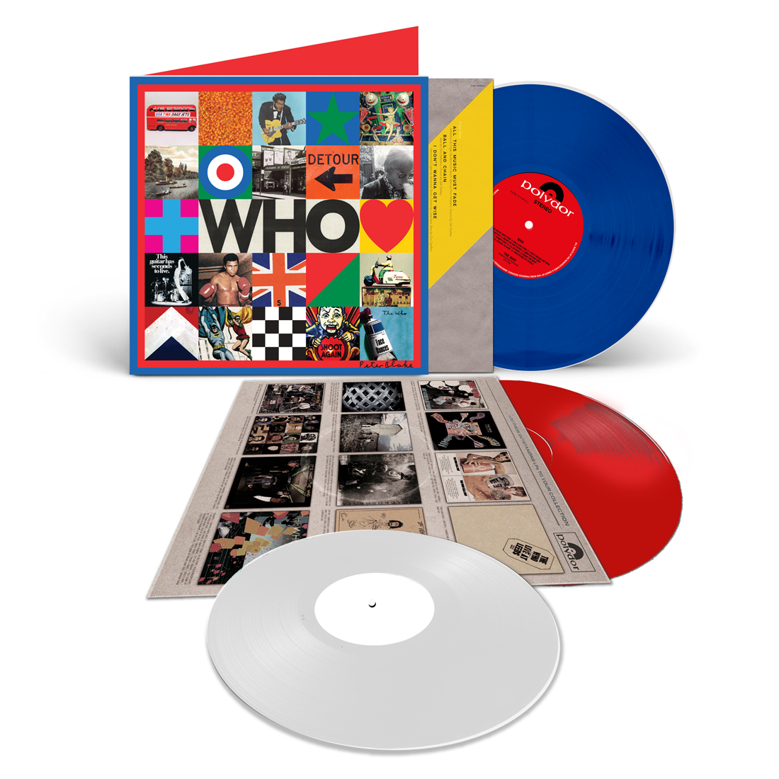 The Who (Ltd. Deluxe COLOURED Vinyl  Edition incl. 7'' Bonus)