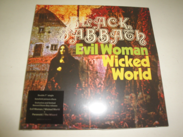 Evil Woman / Wicked World & Paranoid / The Wizard (PICTURE Vinyl)