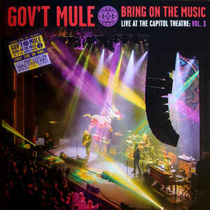 Bring On The Music- Live At The Capitol Theatre Vol.3 (PURPLE YELLOW TRIPLE STRIPED Vinyl)