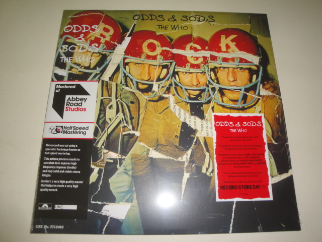 Odds & Sods ( RED & YELLOW Vinyl, half-speed mastered)
