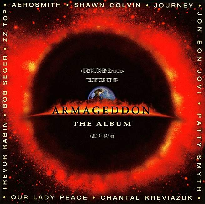 Armageddon- The Soundtrack (RED Vinyl)