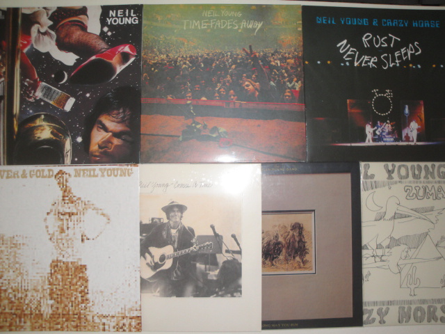 Neil Young Vinyl Collection