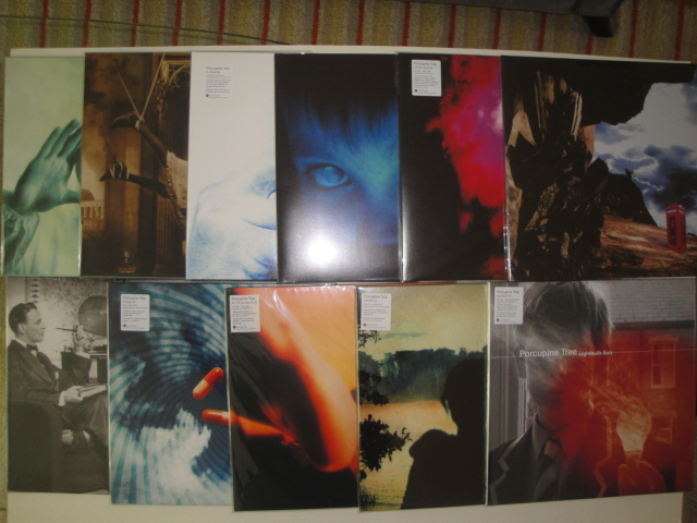Porcupine Tree Vinyl Collection