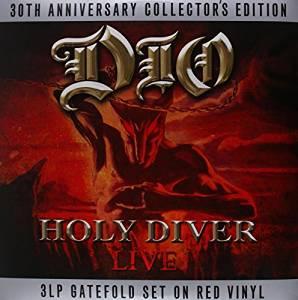 Holy Diver- Live (RED Vinyl)